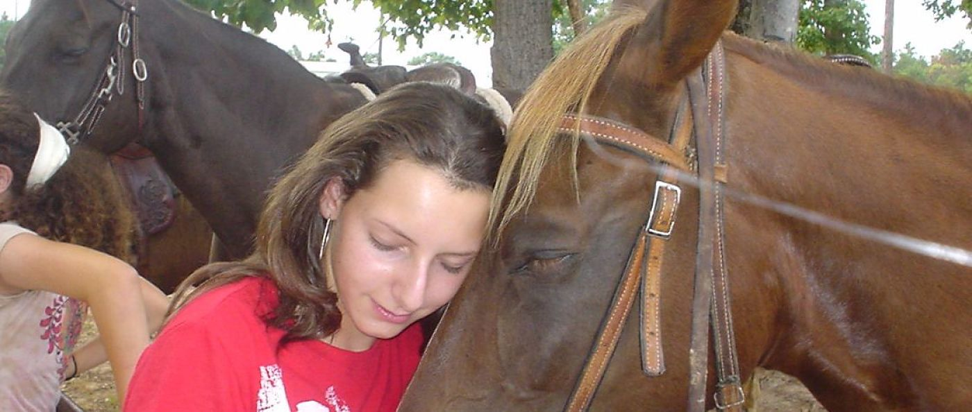 bonding with ranch horses